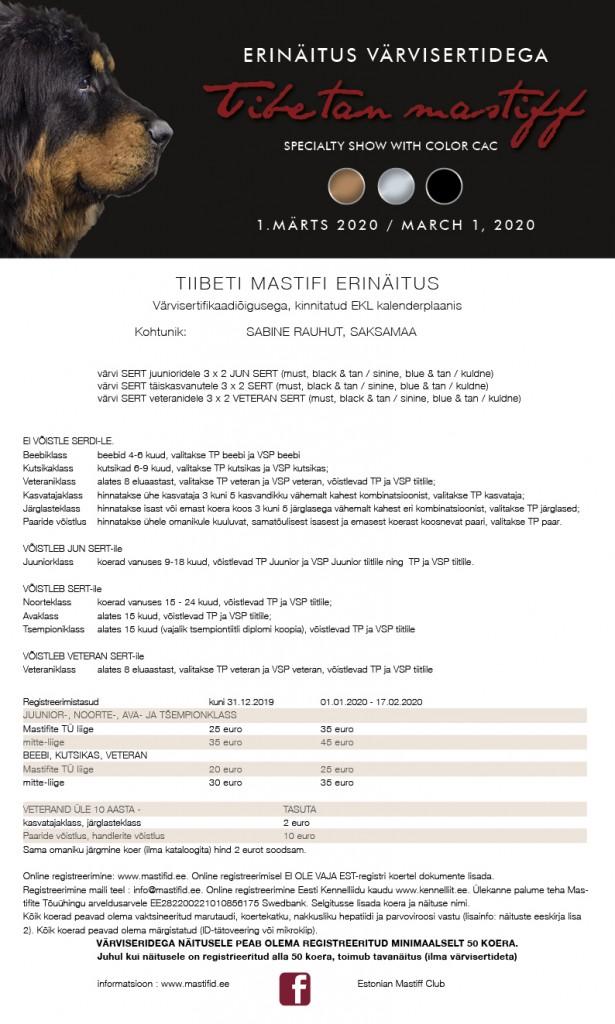 Tiibeti Mastifi erinäitus